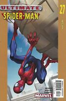 Ultimate Spider-Man Comic Issue 27 Modern Age First Print Bendis Bagley Thibert