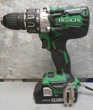 Hitachi Hikoki Cordless 18v Brushless Combi Drill DV18DBXL & 3Ah Battery