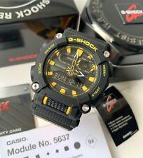 Casio G-Shock *GA900A-1A9 Anadigi Black and Yellow Resin Watch for Men