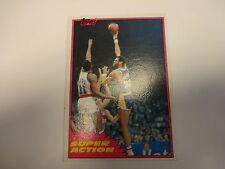 1981 Topps Kareem Abdul-Jabbar Super Action Card # 106 Los Angeles Lakers
