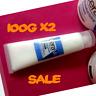 2 X 120g cerave moisturizing cream for normal to dry skin face & body & eczema