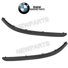 For BMW E39 530i Pair Set Of Left & Right Impact Strips Corner Moldings Genuine