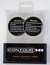 Contour HD Contourhd contour plus roam gps Flat Surface Cam Mount Pad Pads 2 pcs
