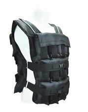 60 Lbs. Weight Vest - 24 Iron ore weighted bags included!