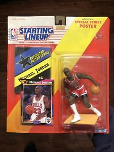 Michael Jordan RARE 1992 SLU Starting Lineup Chicago Bulls