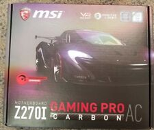 MSI Z270i Motherboard Gaming Pro Carbon AC Intel Z270 BRAND NEW IN BOX