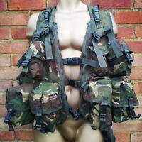 British Army Cadet Training Vest, Webbing, DPM,SUPERGRADE
