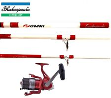 Shakespeare Omni Combo 14ft Beachcaster Beach Sea Fishing Rod + 070 Reel + Line