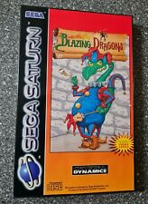 Blazing Dragons /Sega Saturn  *Top Zustand #sega