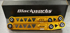 Blackworks BWR Rear Lower Control Arms LCA 96-00 Honda Civic EK ORANGE
