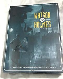 Watson & Holmes Dr Jesus Torres Castro Boardgame New Sealed Xmas Detective