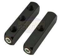 "3  Way Air Hose Coupler Distribution Block Bar Line Splitter Manifold 1/4"" NPT"