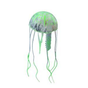 Floating Jelly Fish Glowing Effect Aquarium Tank Ornament Decoration Fish Safe