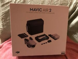New open box dji mavic air 2 flymore combo  with smart controller