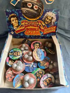 Gerry Anderson Terrahawks - Rare Box Zeroid Bubblegum - Alma Confectionary