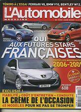 L'AUTOMOBILE MAGAZINE n°709 05/2005 VW GOLF 2.0T GTI DSG 1007  FERRARI F430
