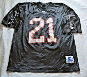 Vintage Atlanta Falcons #21 (Deion Sanders?) Starter Jersey - Size XL