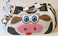 Snack Pets Freezable Lunch Box / Placemat Milky the Cow Insulated white black