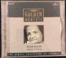 Golden Moments - Begum Akhtar. CD. Shaam E Firaq. NEW. STILL SEALED.