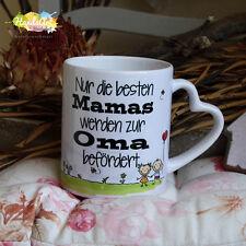 Tasse / Nur die besten Mamas werden zur Oma befördert ~ Muttertag Weihnachten