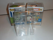 1 x 4'' funko pop vinly box protector case thick 0.5mm pet acid free very thick