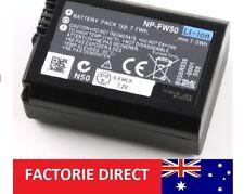 Replacement NP-FW50 NPFW50 Battery Sony Alpha A560 SLT NEX-3 NEX-5 NEX-6 NEX-7