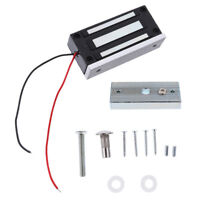 12V Electric Magnetic Door Lock Entry Security Access 60KG, Auto on, Gate
