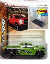 Majorette Ford F150 Green Diecast Car 1:72 201C Pick Up Series Free Display Box