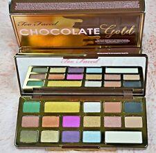 Too Faced -- Chocolate Gold Metallic/Matte Eyeshadow Palette