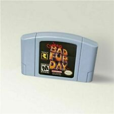 Conkers Conker's Bad Fur Day For 64 Bit Game USA  Cartridge Version Format NTSC