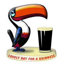 More details for guinness toucan resin figurine/ statue 100mm x 95mm (sg)