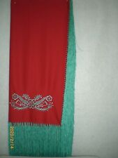 Dance Shawl, Petite Ladies or Teen, Oklahoma Style, Embroidered             s421