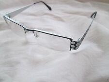 Eyefunc black / silver spot glasses frames. 234. With case.