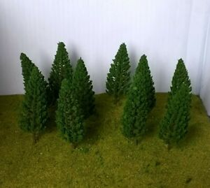 Fir/Conifer Trees Model Making 6.8cm,pack of 10-Railway Architecture Warhammer