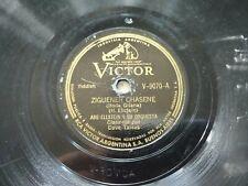 ABE ELLSTEIN, DAVE TARRAS Victor 9070 HEBREW 78rpm ZIGUENER CHASENE / MAZEL TOV