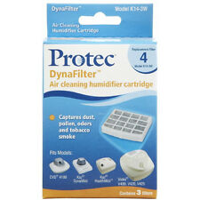 Protec DynaFilter Air Cleaning Humidifer Cartridge  Model K14-3W # 4, 3 filters
