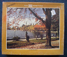 jigsaw puzzle 300 pc Whitman Guild Schliersee Lake Germany end of summer fall