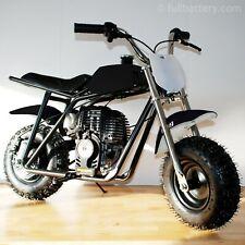 Gas powered mini bike - dirt bike for kids - no mixing oil - free shipping black