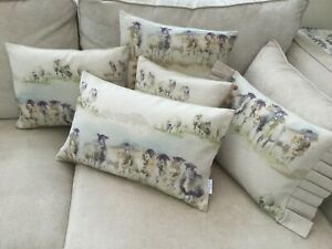"""Voyage Decoration Come By Sheep Linen cushion cover/sham Pillow case 16"""" x 16"""""""