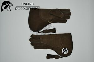 OFS Brown Nubuck Triple Layer Glove Size small
