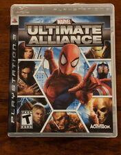 Marvel: Ultimate Alliance (Sony PlayStation 3, 2006)