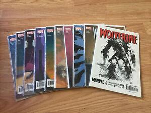 Wolverine #180-189 VF-NM Lot Comics