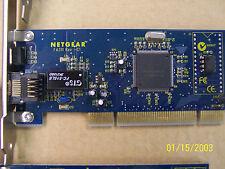 Two Netgear FA311 Network Cards 10/100 Ethernet PCI, 2 Lo-pro Bracket