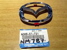Front wings bonnet badge, genuine Mazda MX5 mk2.5, 2001-05 NBFL MX-5 85mm