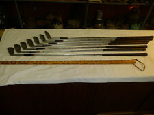 Fred Haas Iron Set 3-9 w/ Steel/ Collectable by Golf Co. NEW ORLEANS