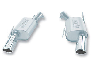 2005-2009 Borla Mustang GT Ford Rear-Section Touring Exhaust System - 11752