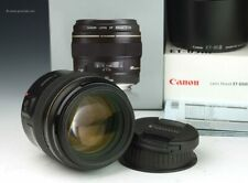 Canon EF 85mm f/1.8 USM + ET-65III