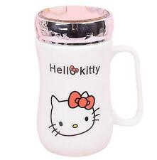 Cute Hello Kitty Home School Ceramic Cup Tea Milk Coffee Mug 500ML c/w spoon
