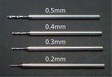 Tamiya 74115 Fine Pivot Drill Bit 0.4mm - Shank Dia. 1.0mm Cap