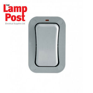 BG WP12S IP66 1 Gang 2 Way Single Slimline Outdoor Garden Weatherproof Switch